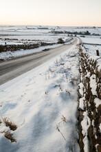 Snowy Northumberland
