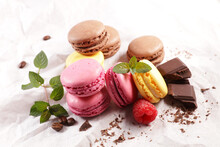 Assorted Of Colorful French Ma...