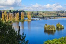 Lake Karapiro, A Man-made Lake...