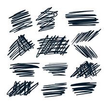 Random Pen Sketch Sribbles Des...