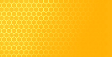 Yellow Hexagonal Honeycomb Mes...