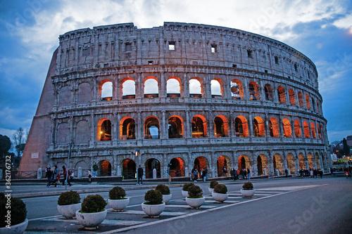 Fényképezés coliseum in rome italy