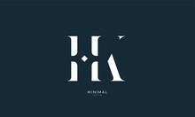 Alphabet Letter Icon Logo HK