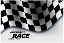 Checkered Racing Flag Sports B...