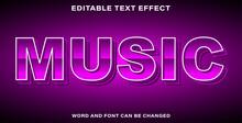 Text Effect Music