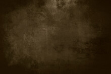 Old Dark Brown Grungy Canvas B...