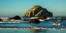Face Rock At Bandon Beach On T...