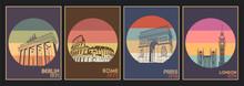 European Attractions, Capitals...