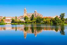 Salamanca Cathedral In Salaman...