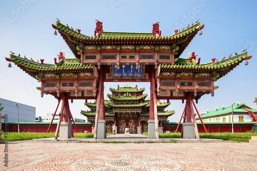 Bogd Khan Winter Palace Fotobehang