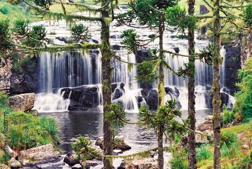 Cascata da Barrinha - Bom Jardim da Serra - Santa Catarina - Brasil Canvas-taulu