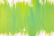 canvas print picture - Green Painting on Canvas