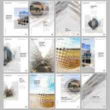 A4 Brochure Layout Of Covers D...