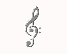 G Clef And F Clef Music Note B...