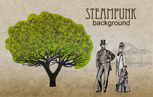 Template Steampunk Design For ...