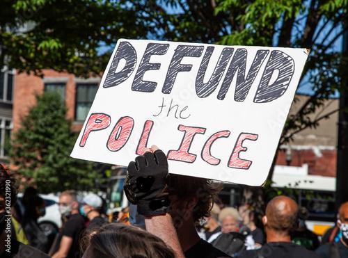 Fényképezés Defund Police