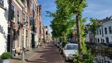 Residential Streets In Haarlem...