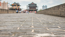Selective Focus Of Xian City W...