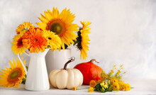 Beautiful Autumn Still Life Wi...