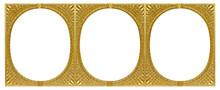 Triple Golden Frame (triptych)...