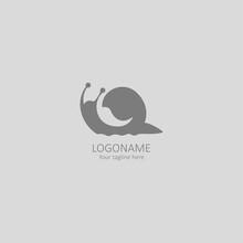 Snail Abstract Logo Vector