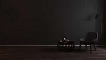 Modern Luxury Dark Living Room...