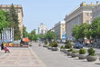 square in the center of the city