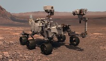 Mars. The Perseverance Rover D...