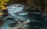 wodospad Gafossen na rzece Leira niedaleko miejscowości Maura w Norwegii