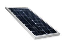 Solar Panel Isolated On White. Alternative Energy Source