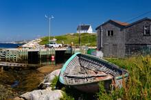 Working Fishermen On The Dock ...
