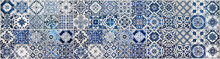 Geometric And Floral Azulejo T...