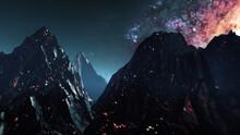 Futuristic Mountain Landscape ...