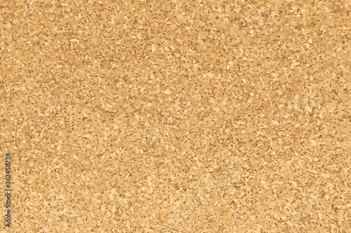 Fotomural Brown yellow color of cork textured background (Vector)