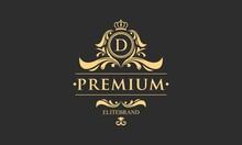 Luxury Monogram Logo Template ...