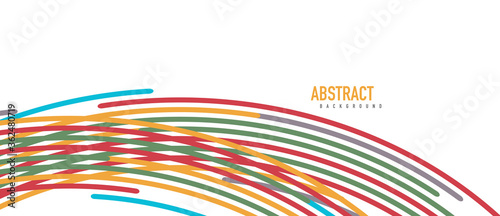 Аbstract moving colorful lines vector backgrounds for cover, placard, poster, banner or flyer