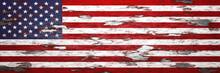American Flag Grunge METAL Bac...
