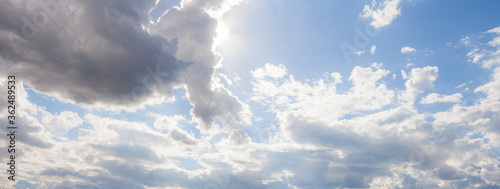 Valokuva sky and clouds background
