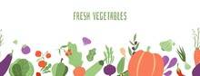 Fresh Vegetables Banner. Farmi...