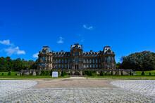 Bowes Museum Against A Deep Blue Sky