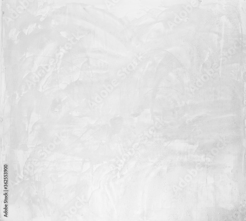 background and texture of rough cement masonry wall Canvas Print