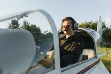 Young Pilot Is Preparing For T...