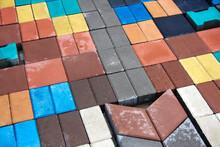 Multicolored Paving Stones