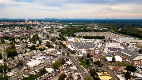 Fotografie, Tablou Aerial Images Of The Big E