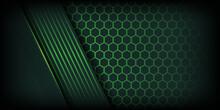 Luxury Dark Green Background W...