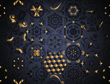 Vector Black Hexagon, Lisbon F...