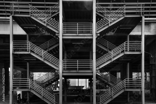 Fototapeta Low Angle View Of Modern Building