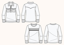 Polo E T-shirt Maniche Lunghe