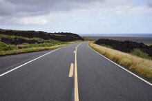 Chain Of Craters Road In Hawai...
