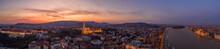 Panoramic Aerial Drone Shot Of...